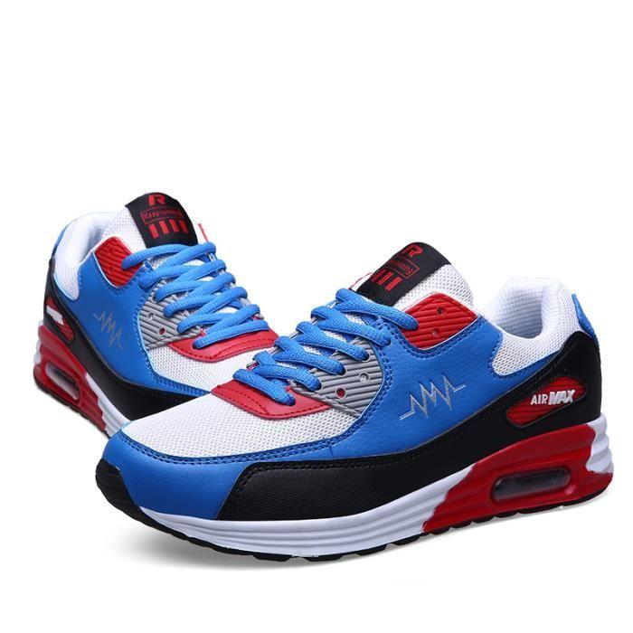 Mode hommes chaussures de sport air chaussures respirant sport chaussures de course W2OH3W1UoC