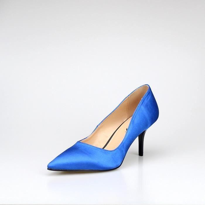 Femmes Chaussures à talon Modèle de base Pompes Sexy Lady mariage bout pointu chaussures la main