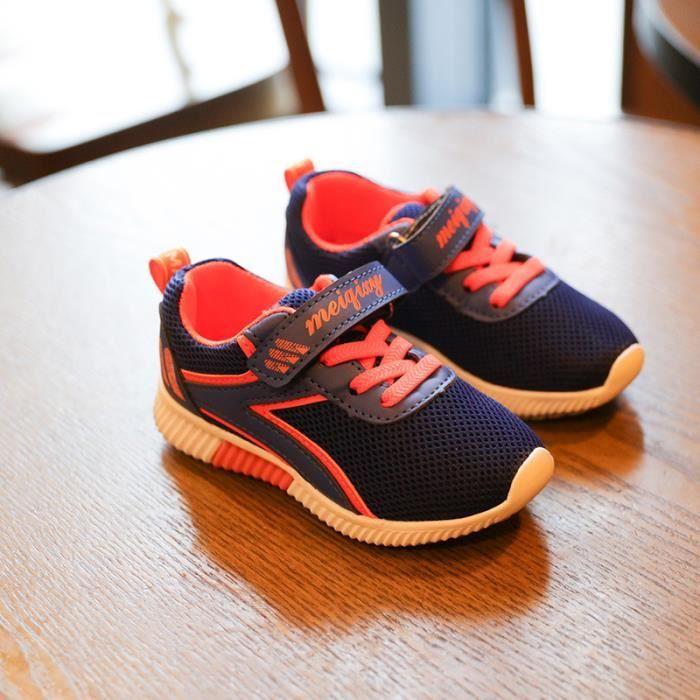 Baskets chaussures de sport décontractées pour enfants 4phKN6