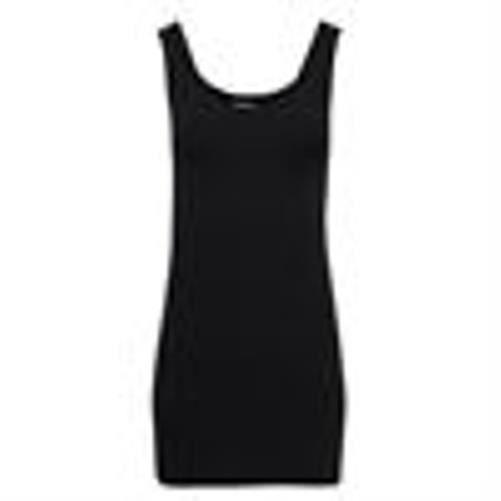 Mini - robe de corps mi-longue pour femme-BS329-Noir-BS329-Noir