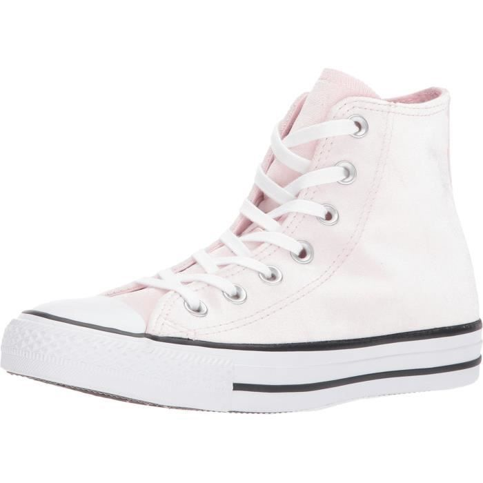 Converse Femmes Chuck Taylor All Star Salut, Rose - gris PD4V3 Taille-37 1-2
