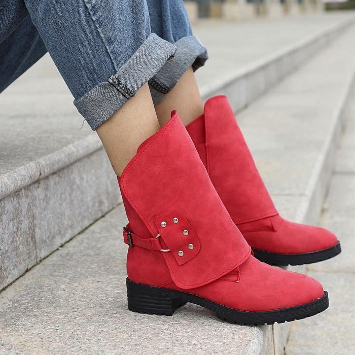 Cow En Bottillons femmes Boot Em26466 Cheville boy Cuir Lansman Chaussures Chevalier Bottes De Dames Martin pvwBE