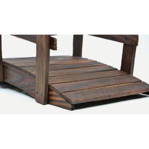 Pont en bois jardin achat vente pas cher - Pont en bois jardin ...