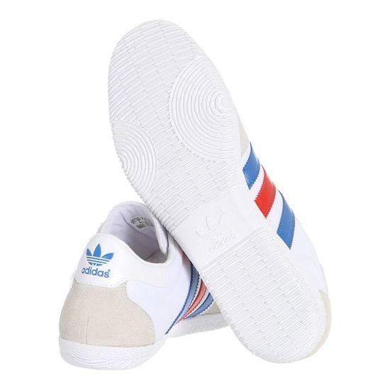 outlet store b31f8 41180 ADIDAS Baskets Net 80 Homme Blanc, bleu et rouge - Achat   Vente basket -  Cdiscount