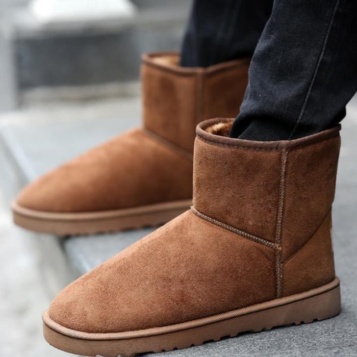Bottes taille 7 grande de de Ajouter amant couleurs chaude homme neige laine xp4aH
