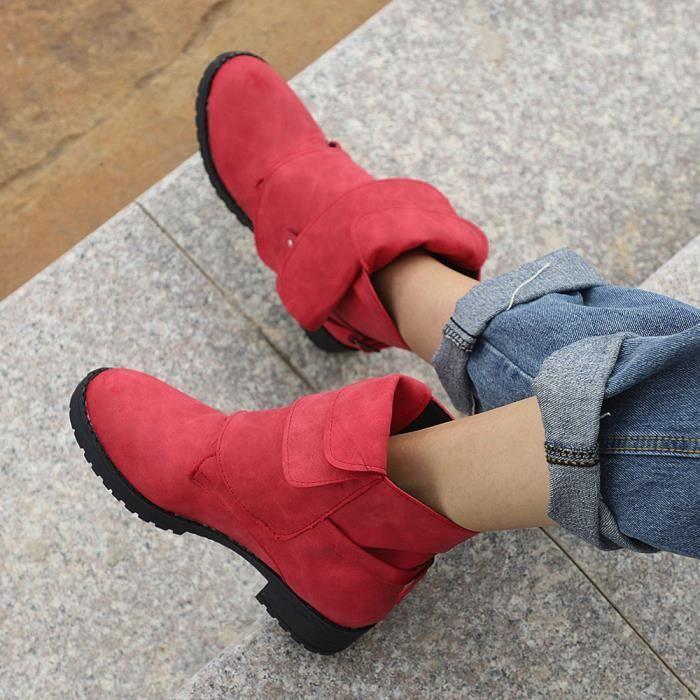 Cheville Cuir Chaussures boy Em26466 En Chevalier Martin femmes De Cow Boot Dames Lansman Bottillons Bottes m0vN8wnO