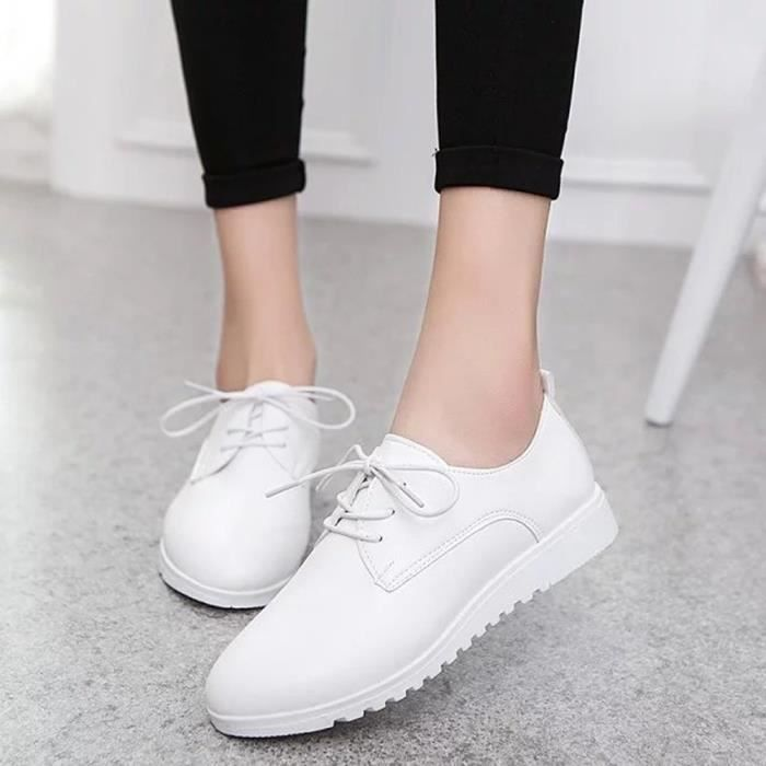 Simple Bowknot Carré Chaussures Chaussures Femmes beige Flat Heel Low Bout On Shallow Slip vSBWR
