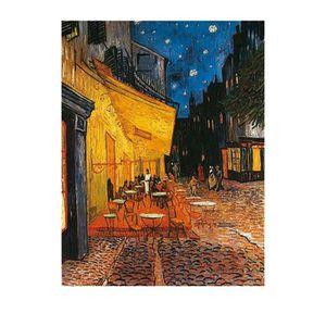 Affiche papier - Terrasse de Café - Van Gogh - 40x50 cm