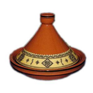 TAJINE Tajine traditionnel oulja jaune 30 cm