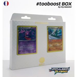 CARTE A COLLECTIONNER Coffret #tooboost ECTOPLASMA et GALLAME - XY08 - 1