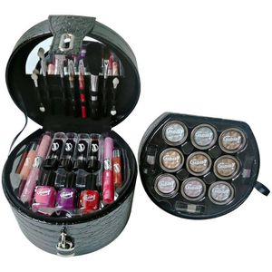 PALETTE DE MAQUILLAGE  Mallette de Maquillage - Glam's Black - 35 pcs