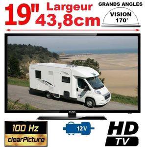 Téléviseur LED TV CAMPING CAR CAMION 18,5