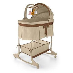 BERCEAU ET SUPPORT Berceau bébé 0-5m interactif avec télécommande 4en