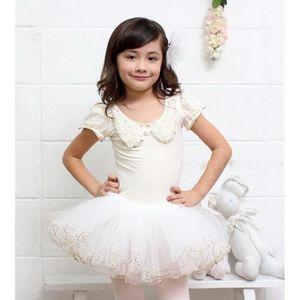 justaucorps danse couleur blanc avec la jupe achat. Black Bedroom Furniture Sets. Home Design Ideas