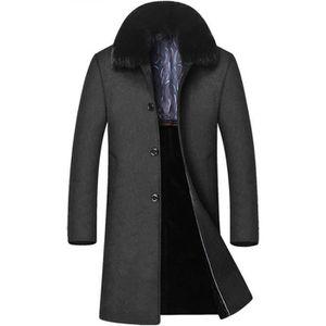 manteau long fausse fourrure achat vente pas cher. Black Bedroom Furniture Sets. Home Design Ideas