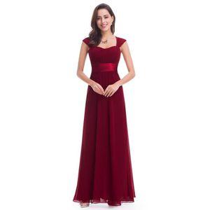 ROBE DE CÉRÉMONIE Robe demoiselle d'honneur longue de mariage manche