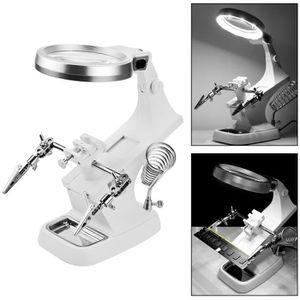 LOUPE OPTIQUE LED Light Illumination Welding Loupe Magnifier  Lu
