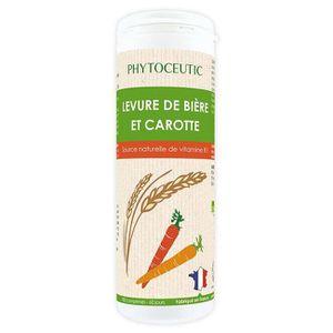 BEAUTÉ DE LA PEAU Phytoceutic - Levure de Bière et Carotte Eclat du