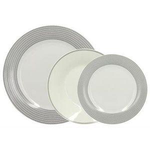 SERVICE COMPLET Service de table 18 pièces en porcelaine SYMBOL 26
