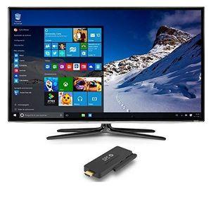 Téléviseur LED TV intelligente SPC 9206132W 32 GB Windows PC Stic
