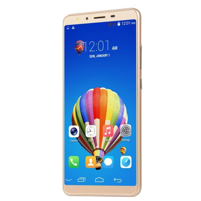SMARTPHONE 5.7''Ultrathin Android 6.0 Dual Core 512MB + 4G GS