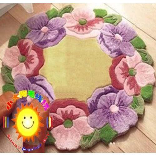 kit tapis fleurs en laine  u00e0 faire soi m u00eame   vente kit de couture kit tapis fleurs en