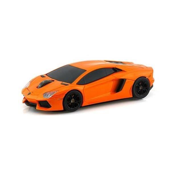 souris sans fil voiture lamborghini aventador orange prix pas cher cdiscount. Black Bedroom Furniture Sets. Home Design Ideas