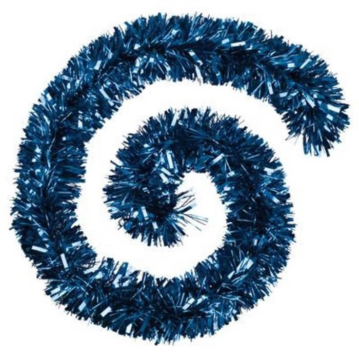 guirlande noel bleu