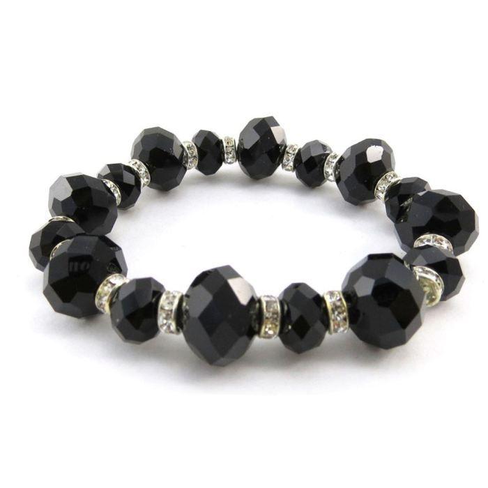 Bracelet Créateur Sissi noir