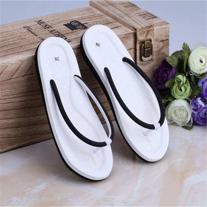 En Ciel D'été Non-Slip Sandales Femme Pantoufles Pour Femmes 2017 Sandales Plate-Forme Intérieure Tongs Pantoufles Sandales