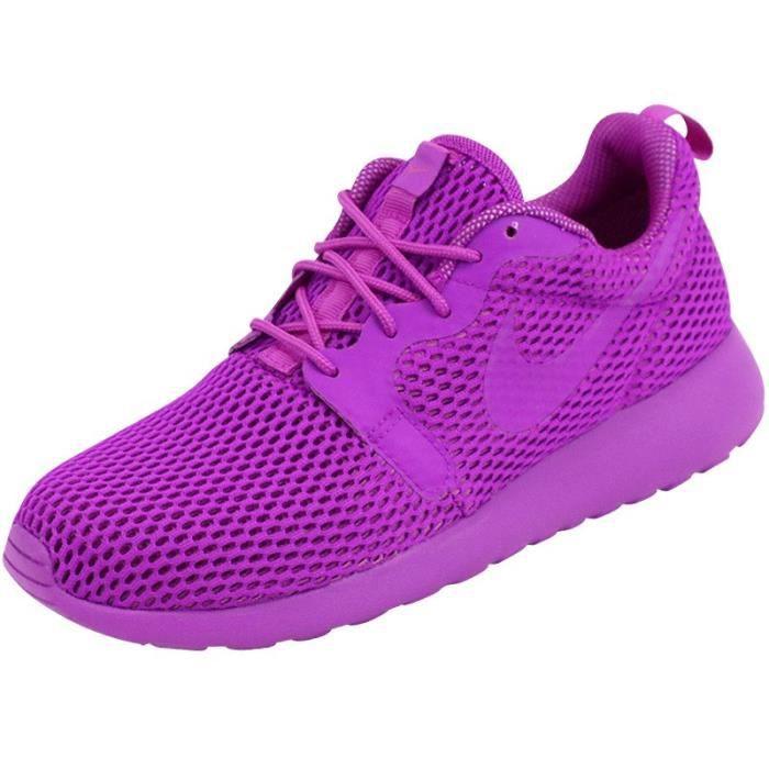 Chaussures Roshe One Violet Femme Nike