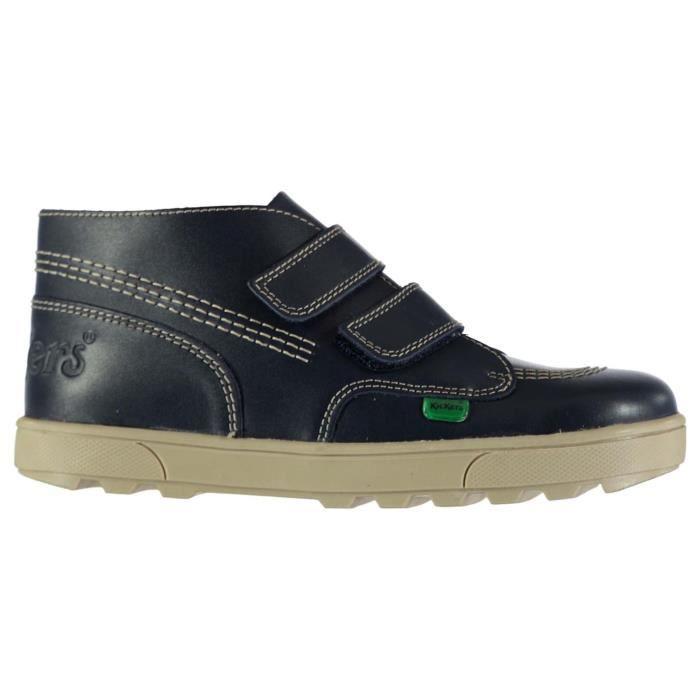 Kickers Enfants Chaussures Montantes Décontractées Bleu Bleu foncé ... 3235f877ccd9