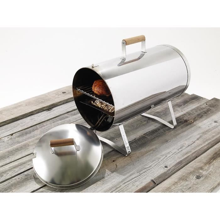 BARBECUE DE TABLE MUURIKKA 10071 Fumoir électrique - Acier