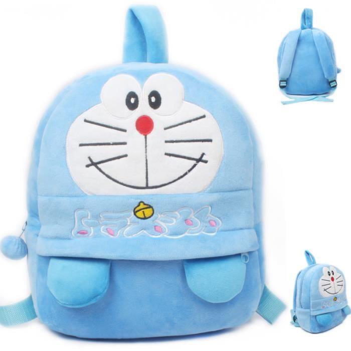 Mignon enfants Doraemon peluche jouets sac à dos mini-cadeaux maternelle sac garçon fille bébé ÉLÈVE Cartable enfants