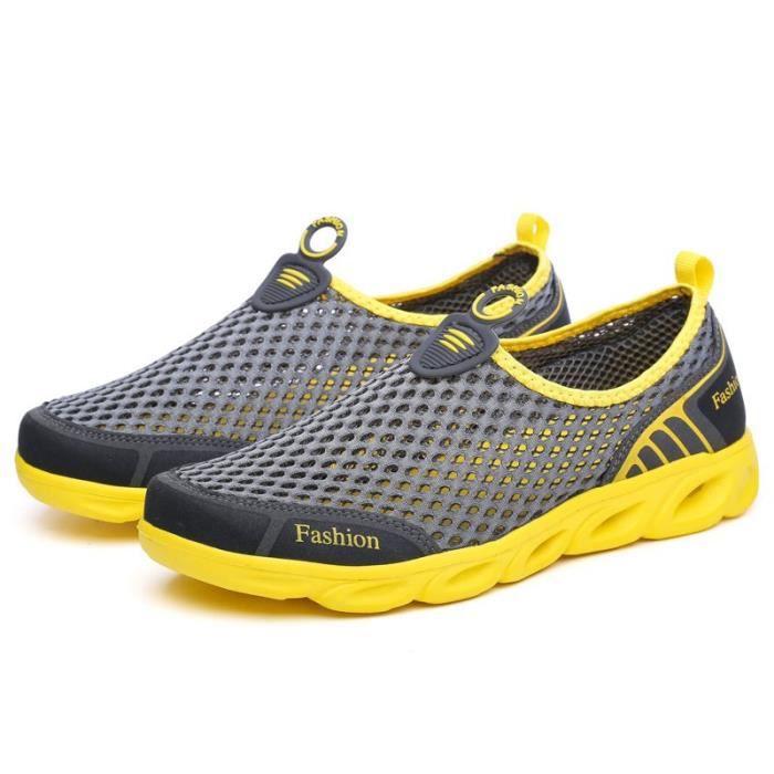 Hommes Mode Tendance Chaussures Casual 3 Couleur extérieure Sandales solides