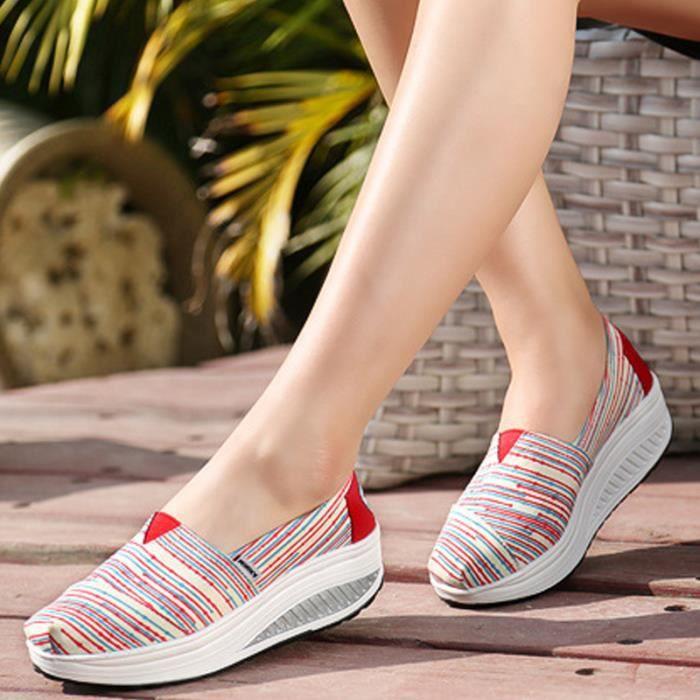 Chaussures Femme Printemps Été à fond épaiséChaussure BJ-XZ064Violet37 MGhzeA