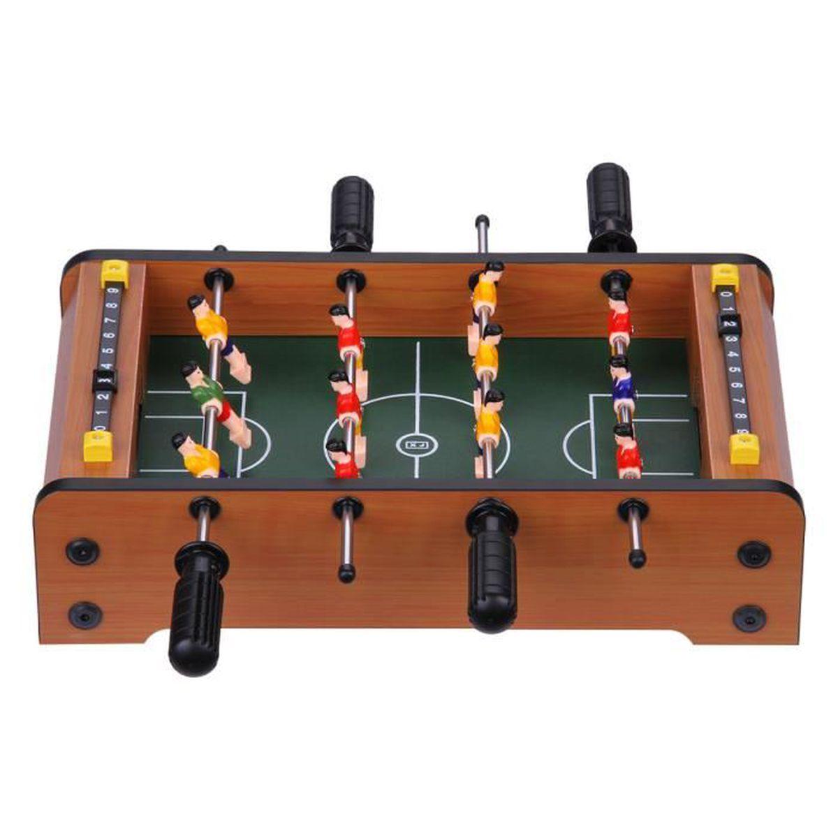 excelvan mini table football jeu de football 34 5 21 5. Black Bedroom Furniture Sets. Home Design Ideas