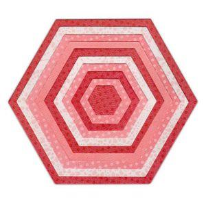 SIZZIX Matrice de découpe Framelits Set 10 pi?ces de Découpage - Hexagones