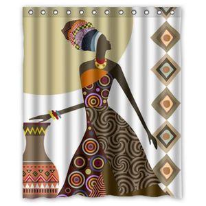 rideau de douche en tissu impermeable achat vente pas cher. Black Bedroom Furniture Sets. Home Design Ideas