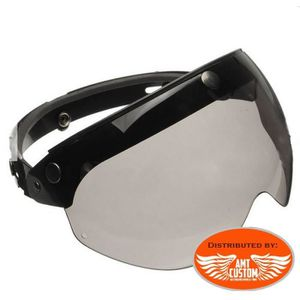 ACCESSOIRE CASQUE Visière lunettes pour casque moto Jet universel Co
