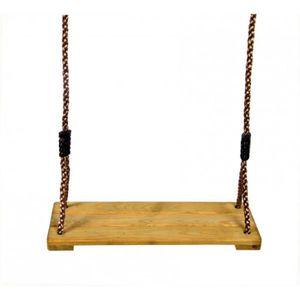 BALANÇOIRE - PORTIQUE Siège balançoire en bois de pin imprégné Swing Kin