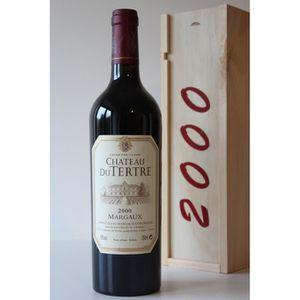 COFFRET CADEAU VIN Coffret Château Du Tertre 2000 Rouge 75cl AOC Marg