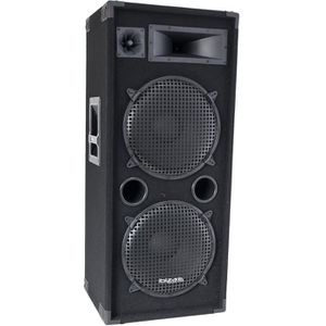 ENCEINTE ET RETOUR IBIZA SOUND STAR215 Enceinte disco 3 voies colonne