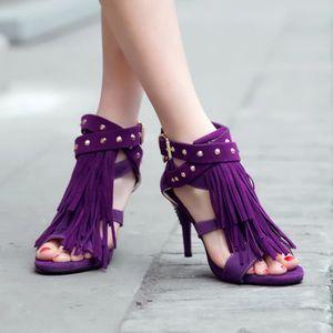 SANDALE - NU-PIEDS SIMPLE FLAVOR Sandales chaussures femmes Cuir de d