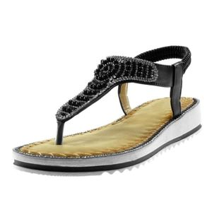 a9b4f1bf6f8c3 SANDALE - NU-PIEDS Angkorly - Chaussure Mode Sandale slip-on salomés ...