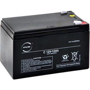 BATTERIE DOMOTIQUE NX - Batterie plomb AGM C 12V-13Ah 12V 12Ah T2 ...