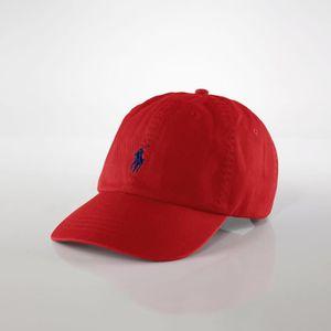 CASQUETTE RALPH LAUREN Casquette baseball rouge