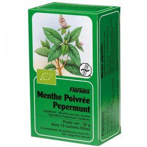 INFUSION Tisane Menthe Poivrée Bio - 15 sachets