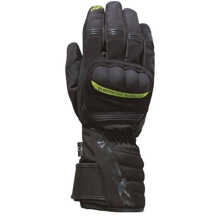 IXON Gant de moto Pro Tenere - Noir / Jaune