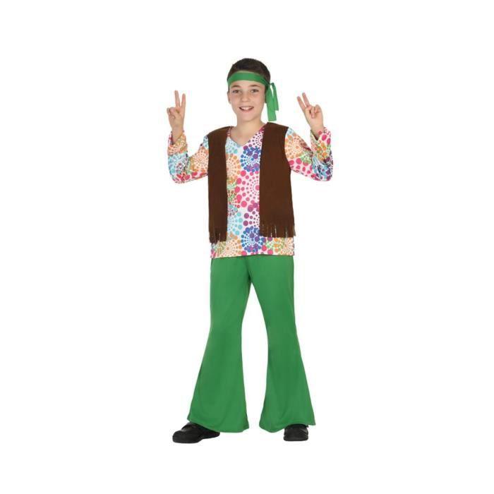 ATOSA Déguisement Hippie - Panoplie Enfant